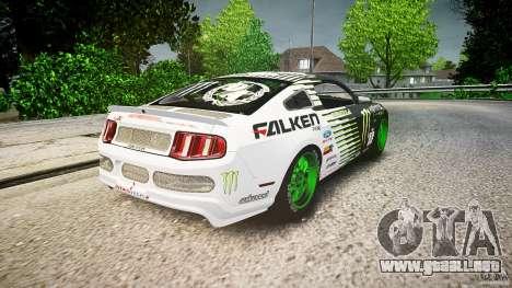 Ford Mustang GT Falken Tire v2.0 para GTA 4 vista lateral