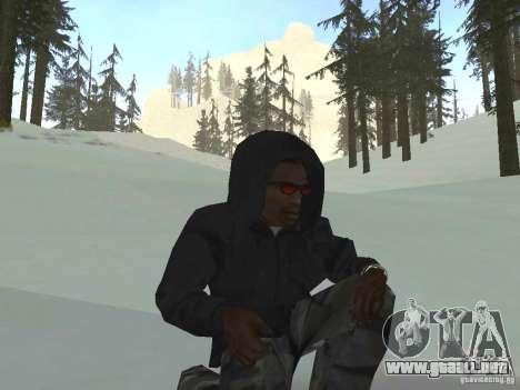 Sudadera con capucha para GTA San Andreas tercera pantalla