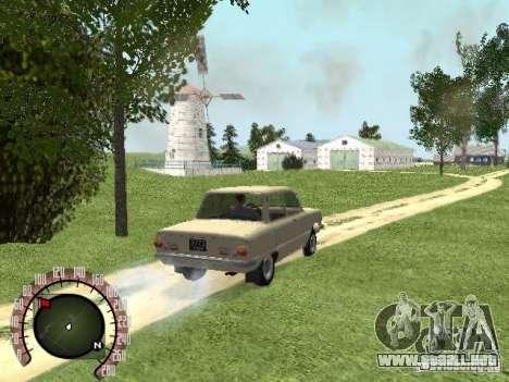 ZAZ 968 para GTA San Andreas left
