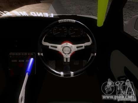 Nissan Silvia S13 Drift Style para visión interna GTA San Andreas