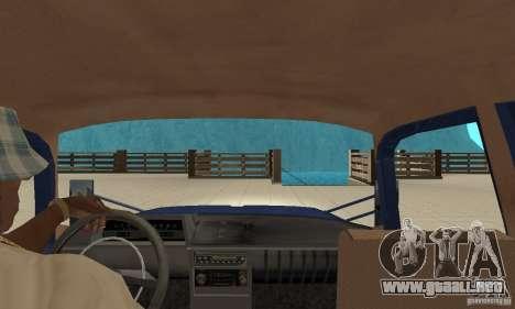 Moskvich 412 con afinación para la visión correcta GTA San Andreas