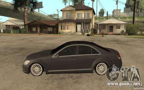 Mercedes-Benz S500 para GTA San Andreas left