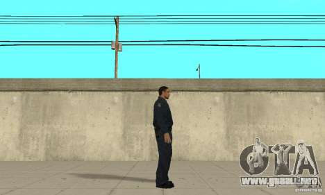 Un oficial de policía de GTA 4 para GTA San Andreas segunda pantalla