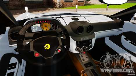 Ferrari 599 GTB Fiorano 2006 para GTA 4 vista hacia atrás