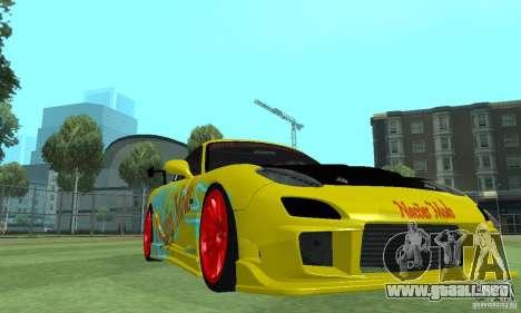 Mazda Rx7 para la visión correcta GTA San Andreas