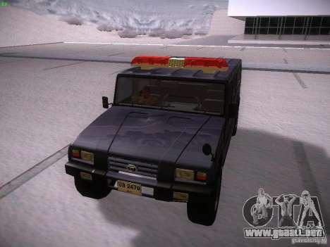 Toyota Mega Cruiser para GTA San Andreas