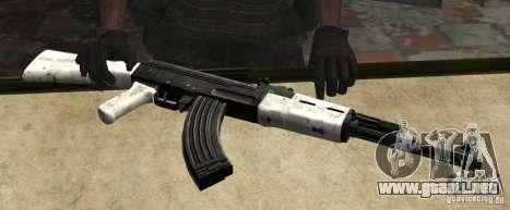 AK47 de nieve (nieve Ak47) para GTA San Andreas