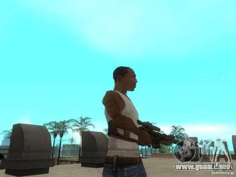 Rifle VSS Vintorez para GTA San Andreas sucesivamente de pantalla