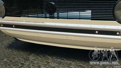 Volkswagen Golf Mk1 Stance para GTA 4 interior