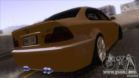 BMW M3 E48 para la visión correcta GTA San Andreas