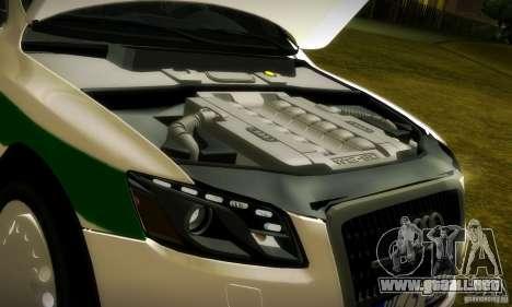 Audi Q5 TDi - Policija para vista lateral GTA San Andreas