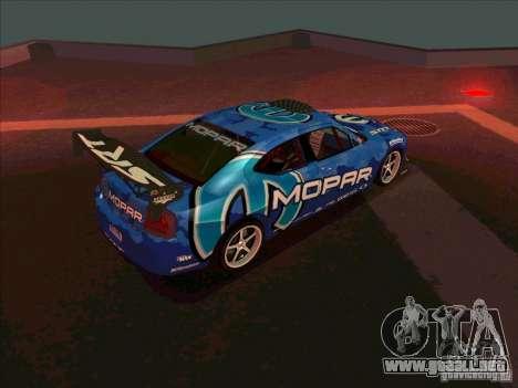 Mopar Dodge Charger para la visión correcta GTA San Andreas