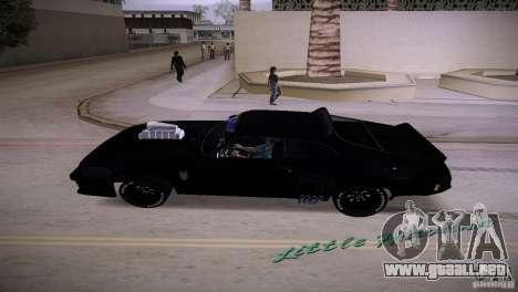 Ford Falcon GT Pursuit Special V8 Interceptor 79 para GTA Vice City vista lateral izquierdo
