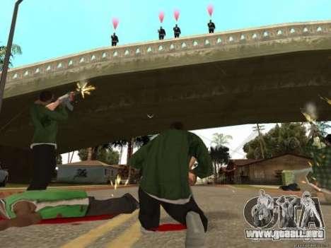 Doble V 4.0 para GTA San Andreas segunda pantalla