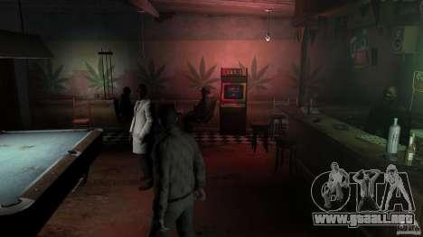 Rasta Bar para GTA 4 adelante de pantalla