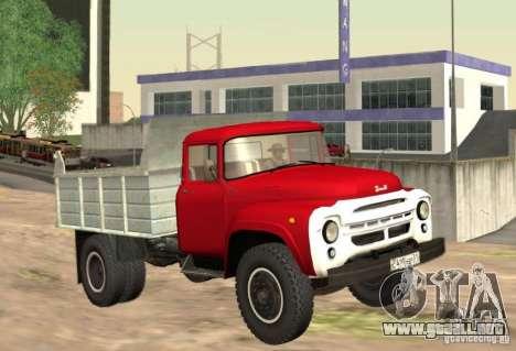 MMZ ZIL 130 4502 para GTA San Andreas left
