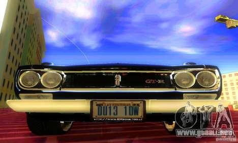 Nissan Skyline 2000-GTR para la visión correcta GTA San Andreas