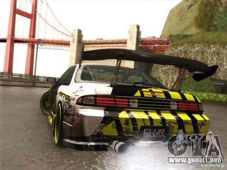 Nissan 200SX S14A para GTA San Andreas vista hacia atrás