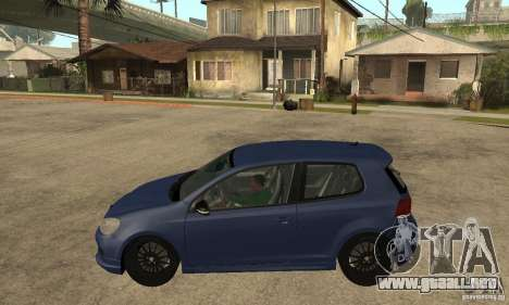 Volkswagen Golf Mk6 2010 para GTA San Andreas left