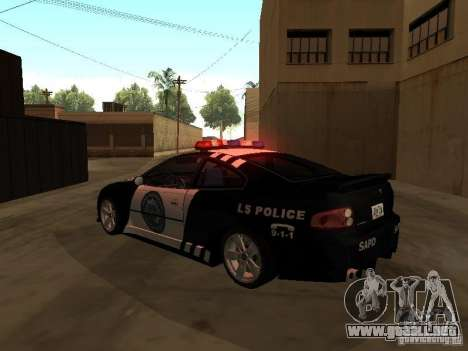 Pontiac GTO Police para GTA San Andreas