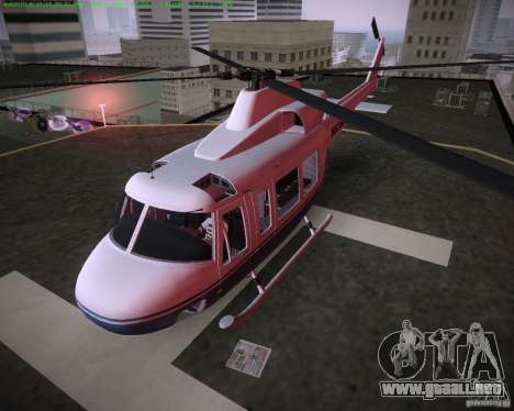 HD Maverick para GTA Vice City vista lateral izquierdo