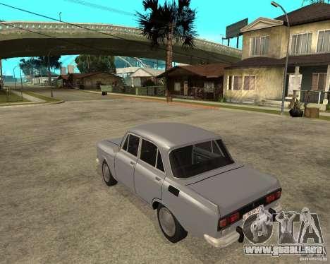 AZLK Moskvich 2140- para GTA San Andreas left