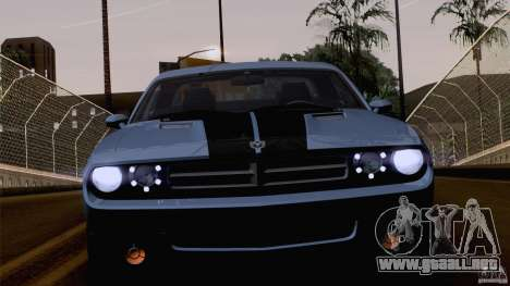 Dodge Challenger SRT8 para las ruedas de GTA San Andreas