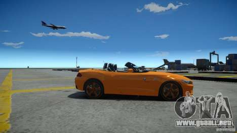 BMW Z4 sDrive 28is para GTA 4 left