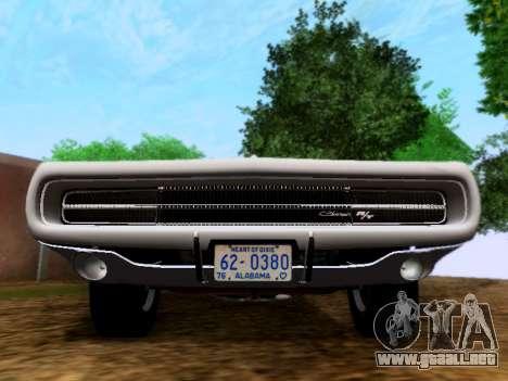 Dodge Charger RT para la visión correcta GTA San Andreas