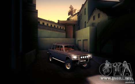 GAZ 2402 4 x 4 PickUp para vista lateral GTA San Andreas