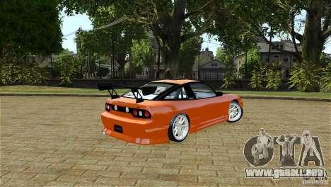 Nissan Sil1480 Drift Spec para GTA 4 Vista posterior izquierda