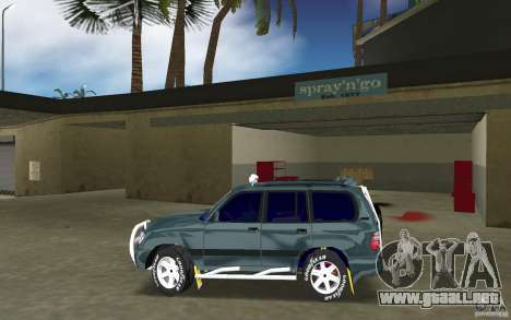 Toyota Land Cruiser 100 para GTA Vice City left