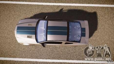 Shelby GT500kr para GTA 4 vista hacia atrás
