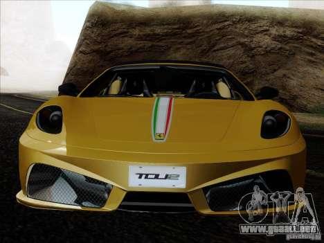 Ferrari F430 Scuderia Spider 16M para las ruedas de GTA San Andreas