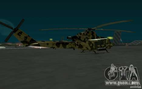 UH-1Y Venom para GTA San Andreas left