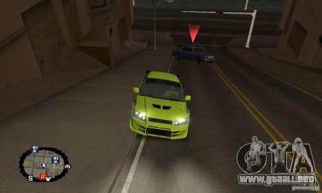 Carreras callejeras para GTA San Andreas undécima de pantalla