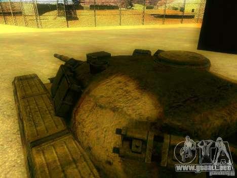 Tanque juego S. T. A. L. k. e. R para visión interna GTA San Andreas