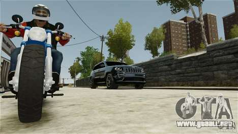 Jeep Grand Cherokee SRT8 para GTA 4 vista lateral