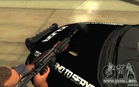 Ford Taurus 2011 LAPD Police para el motor de GTA San Andreas
