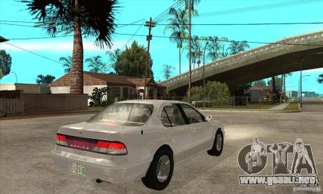 Nissan Cefiro A32 Kouki para la visión correcta GTA San Andreas