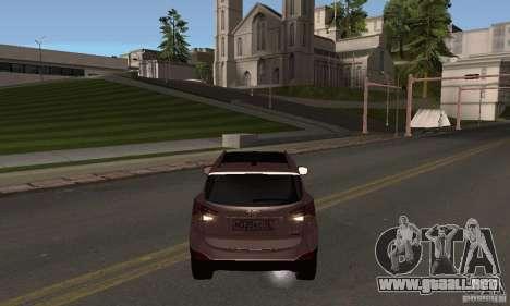 Hyundai ix35 para GTA San Andreas left