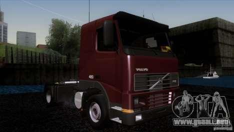 Volvo FH12 para la visión correcta GTA San Andreas