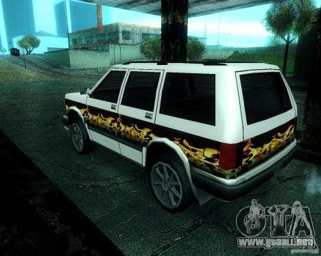 Landstalker para visión interna GTA San Andreas