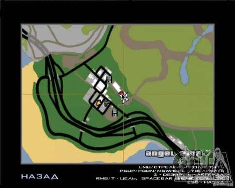 Árboles de Navidad de Razvozčik para GTA San Andreas segunda pantalla