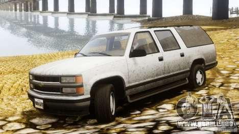 Chevrolet Suburban GMT400 v1.1 para GTA 4 left