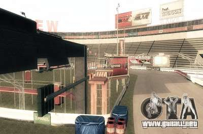 NFS:Shift Drift Tracks para GTA San Andreas sucesivamente de pantalla