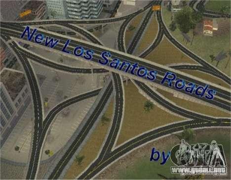 Nuevos caminos de Los Santos para GTA San Andreas