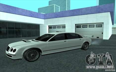 Cognoscneti de GTA 4 para GTA San Andreas vista hacia atrás