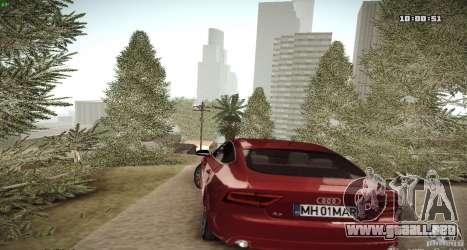 ENB Graphics Mod Samp Edition para GTA San Andreas sucesivamente de pantalla