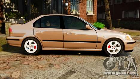 Honda Civic VTI para GTA 4 left